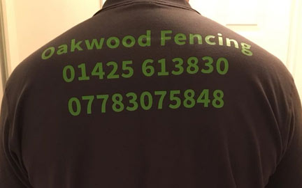 Digger and driver hire by Oakwood Fencing